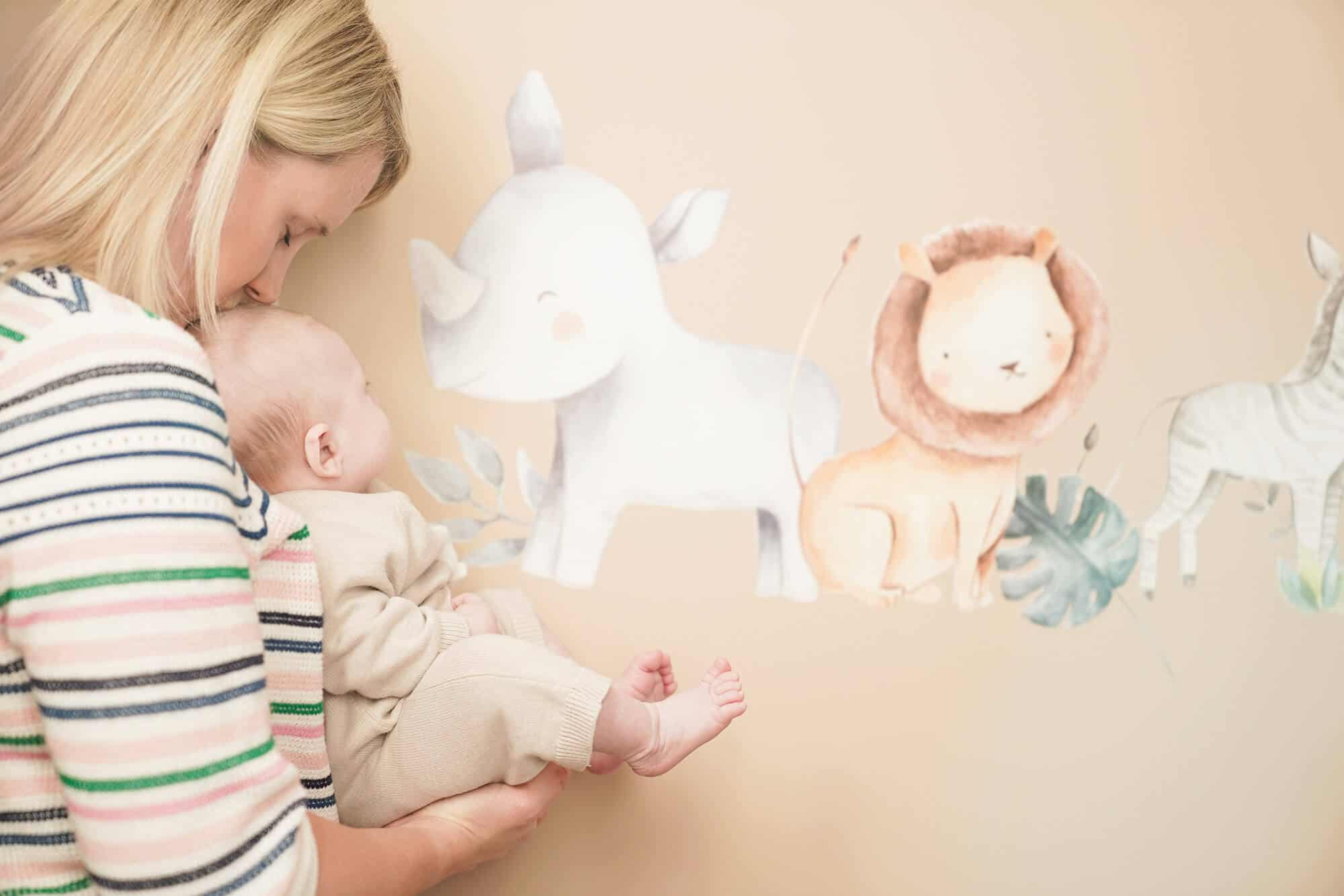 Baby photographer located in Bromley photographing nursery details