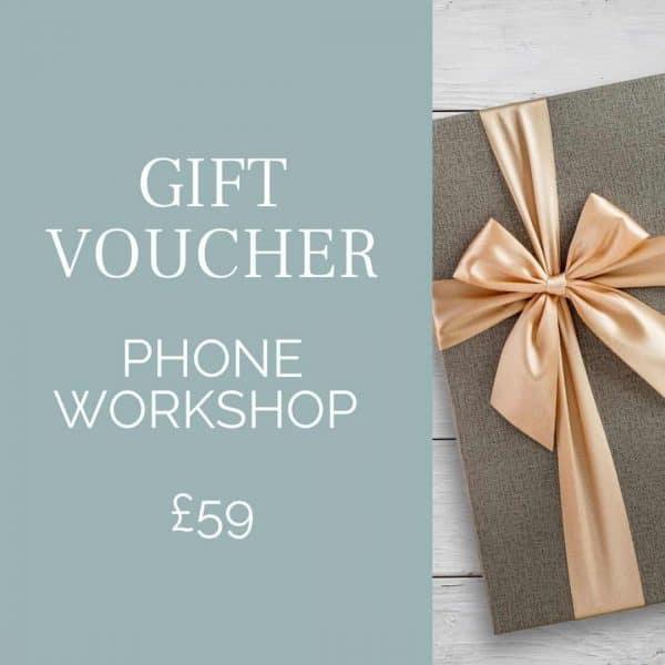 Orpington photographer providing phone workshops