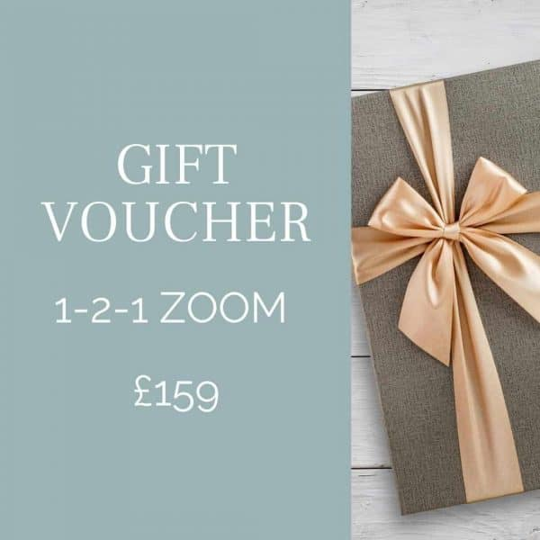 gift voucher for camera photography course via zoom