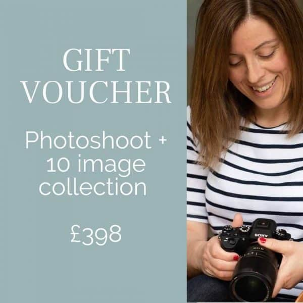 Photoshoot baby gift voucher Orpington