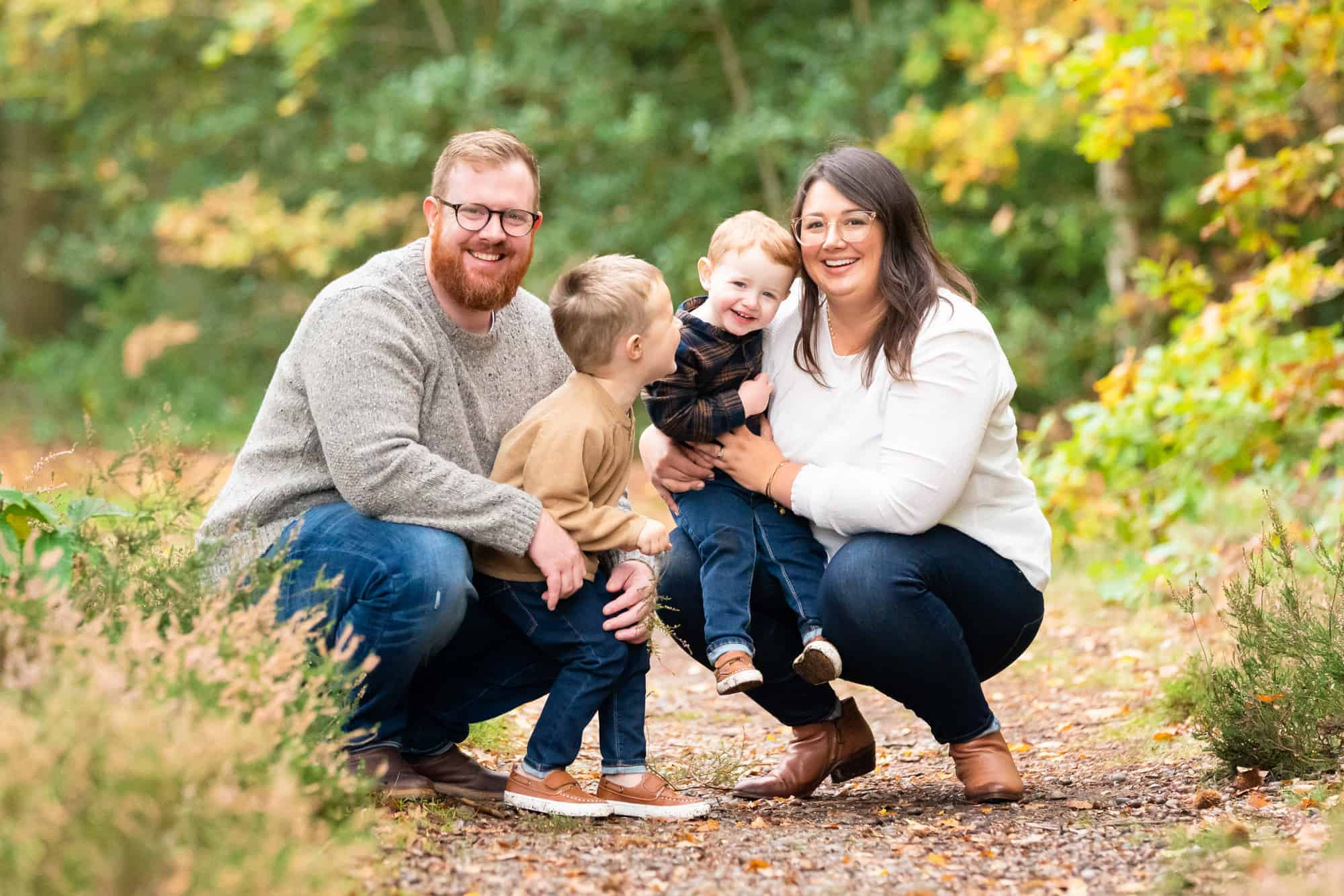 Outdoor family photographer in Bromley