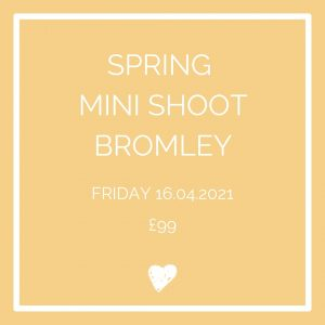 Spring mini shoot Bromley Friday 16th April Easter hols